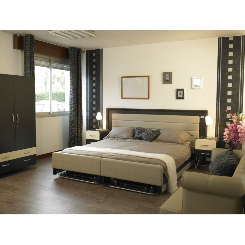 lit m dicalis confort 2 personnes lit acomodo. Black Bedroom Furniture Sets. Home Design Ideas