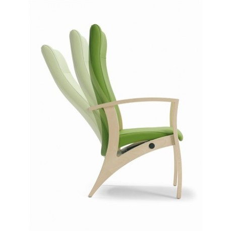 Fauteuil de relaxation dossier inclinable