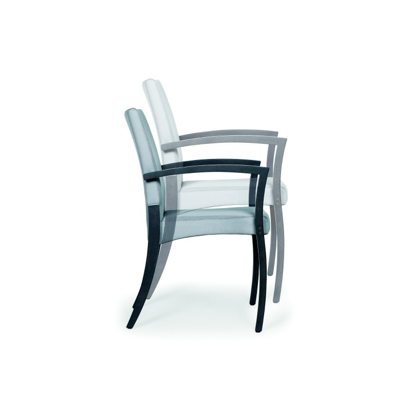 chaise avec accoudoir theorema. Black Bedroom Furniture Sets. Home Design Ideas