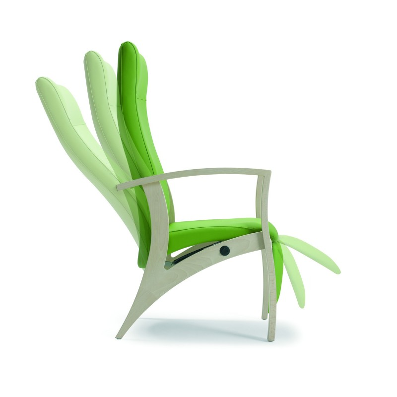 Fauteuil de relaxation theorema avec repose pied for Fauteuil relaxation
