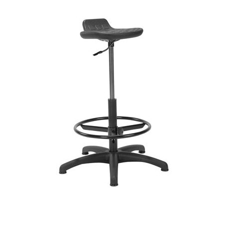 tabouret de bureau worker. Black Bedroom Furniture Sets. Home Design Ideas
