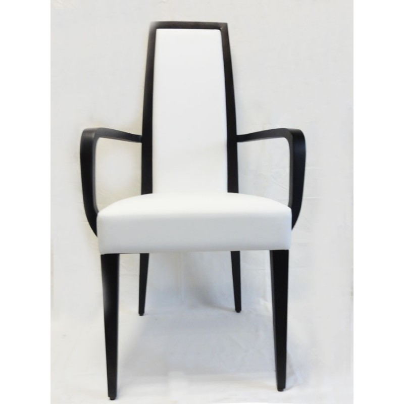 Chaise avec accoudoir erminio chaise avec accoudoirs - Chaise avec accoudoir but ...
