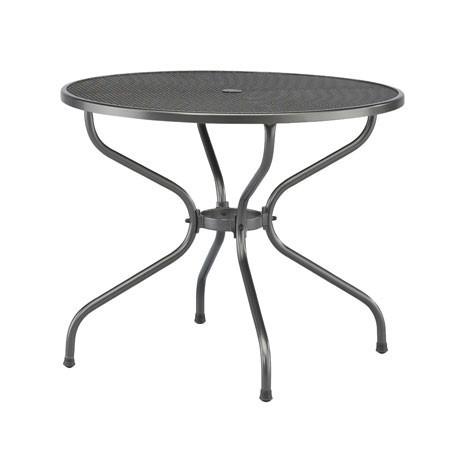 Table de jardin en acier 60 cm Ø Castello