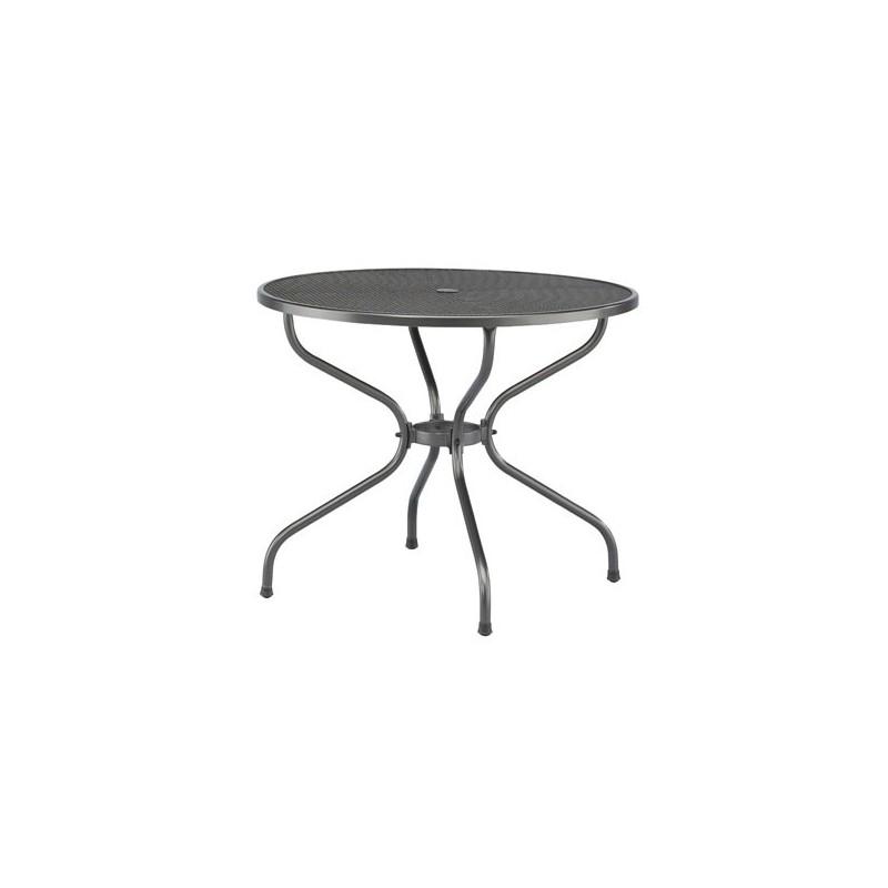 Table de jardin en acier castello - Table de jardin en acier ...