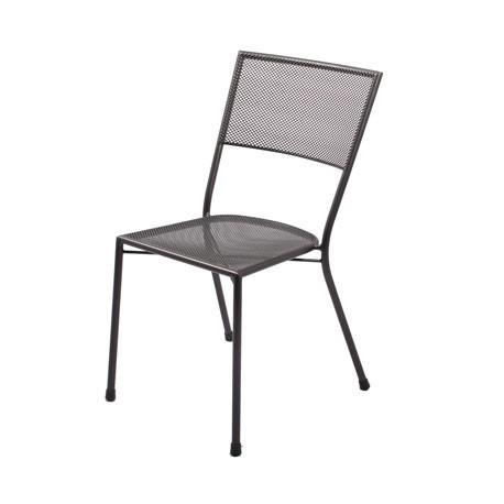 Chaise de jardin en acier Terraza