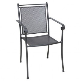 Chaise de jardin en acier Ferido
