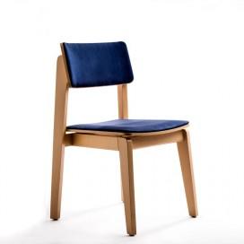Chaise sans accoudoirs acomodo for Chaise capitonnee