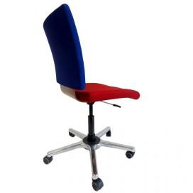 Chaise de bureau dynamique capitonnée