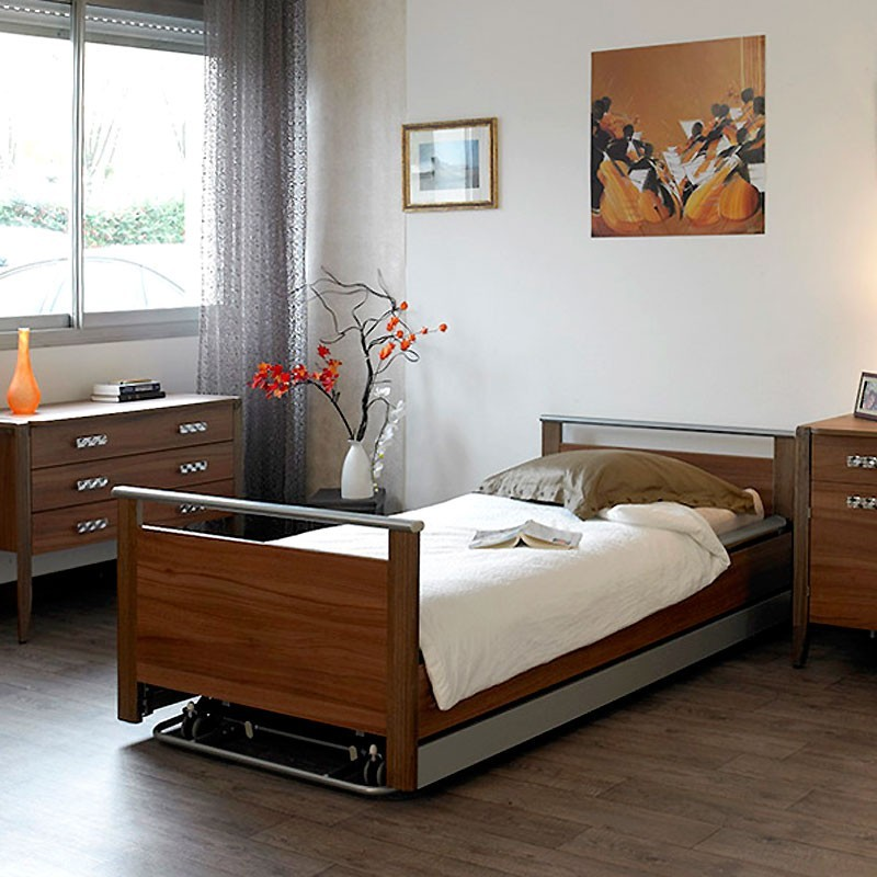 lit m dicalis 1 personne classic. Black Bedroom Furniture Sets. Home Design Ideas