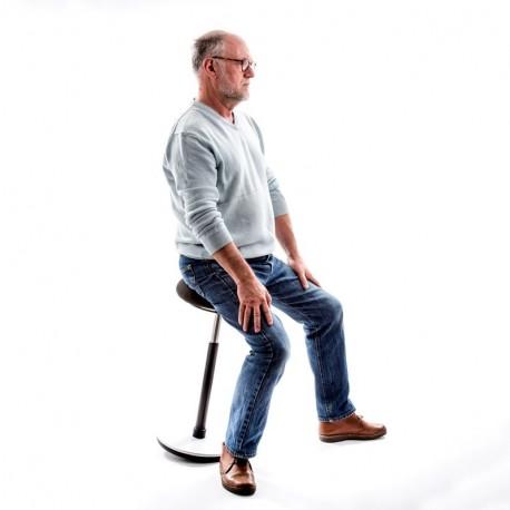 Tabouret dynamique assis debout haut
