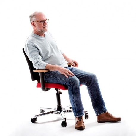 Chaise de bureau avec assise dynamique design