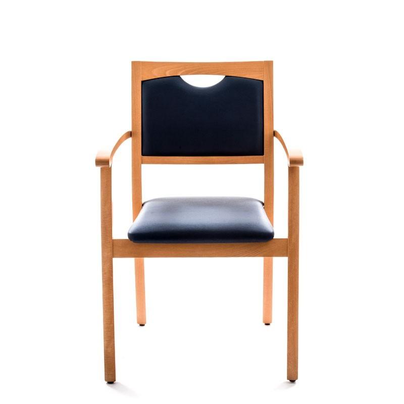 Chaise sixty avec accoudoirs for S asseoir sans chaise