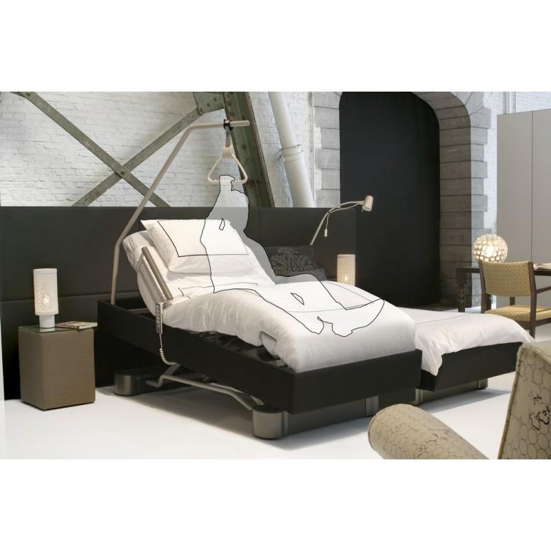 lit double belissima. Black Bedroom Furniture Sets. Home Design Ideas