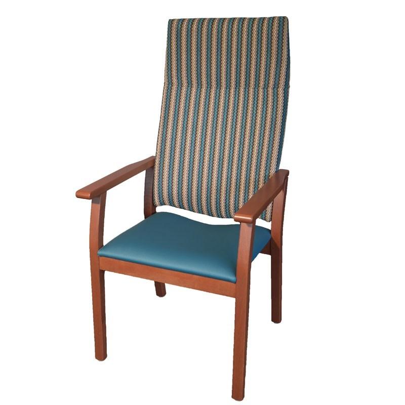 Chaise presence dossier tr s haut - Chaise confortable avec accoudoirs ...