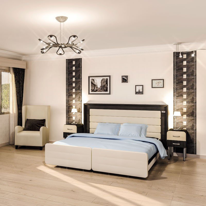 lit m dicalis 2 personnes confort. Black Bedroom Furniture Sets. Home Design Ideas