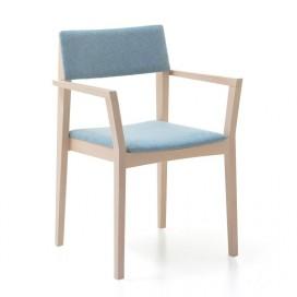 Chaise Eline avec accoudoirs