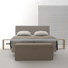 Lit double Boxspring