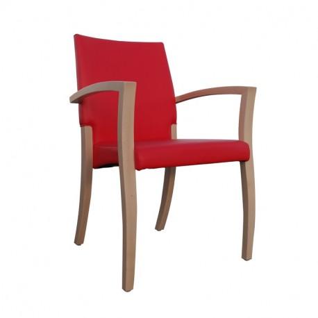 Chaise avec accoudoirs théorema