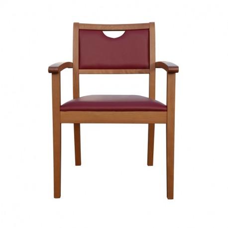 Chaise avec accoudoirs Mila
