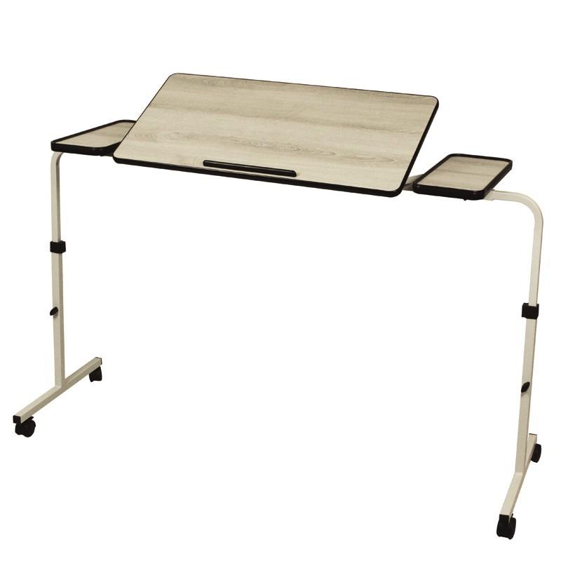 Table De Lit Extra Large Cérusé 120/140 ...