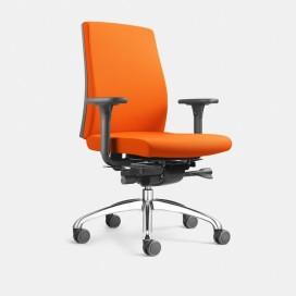 Chaise de bureau Figo sans ou avec accoudoirs