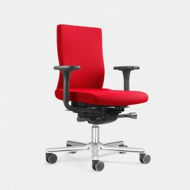 Chaise de bureau Lezgo sans ou avec accoudoirs