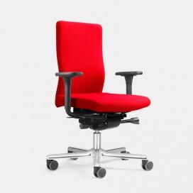 Chaise de bureau assise avec ressorts ensachés