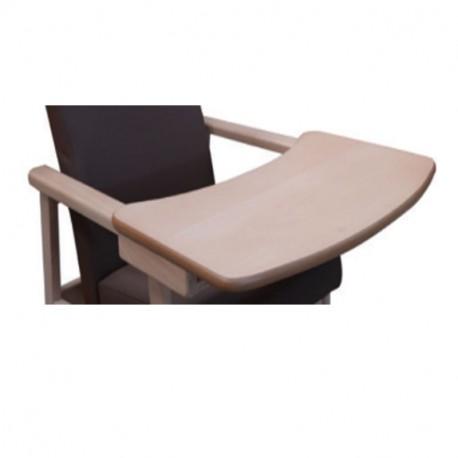 Tablette en bois pour fauteuil Luigi