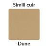 Le ton dune du simili cuir