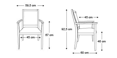 chaise-valeria-dimensions