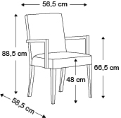 chaise-zenith-dimensions