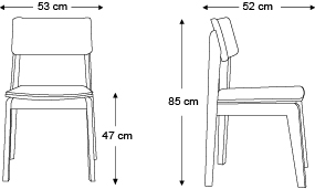 chaise-offset-sans-accoudoirs-dimensions