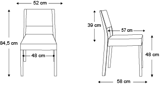 chaise-sintesy-sans-accoudoirs-dimensions