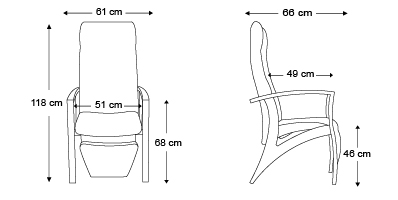 fauteuil-de-relaxation-Theorema-dimensions