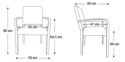 chaise-Lisa-avec-accoudoirs