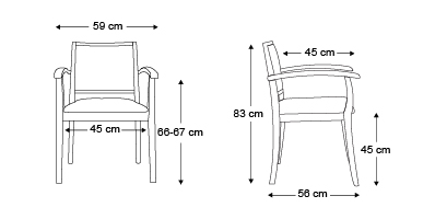 chaise-Liza-dossier-bas-avec-accoudoirs