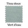 Tissu doux vert d'eau