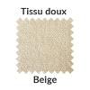 La couleur beige en tissu doux