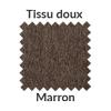 La couleur marron en tissu doux