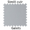 Simili cuir Galets