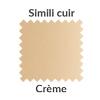 Simili cuir crème