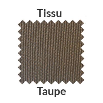 tissu taupe