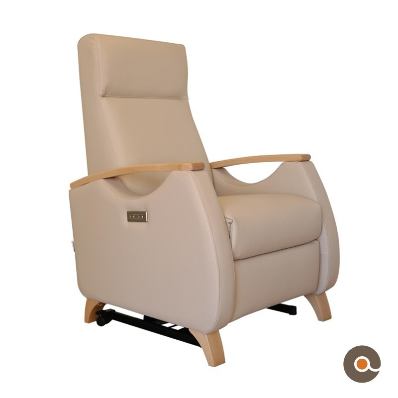 Fauteuil Mateo creme