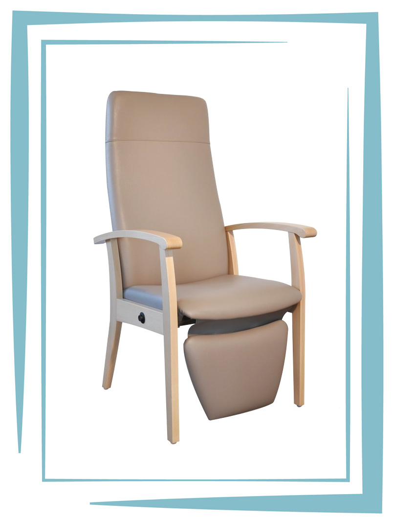 Fauteuil de relaxation personne agee