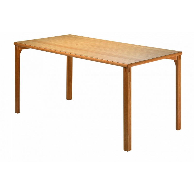 Table rectangulaire bois massif
