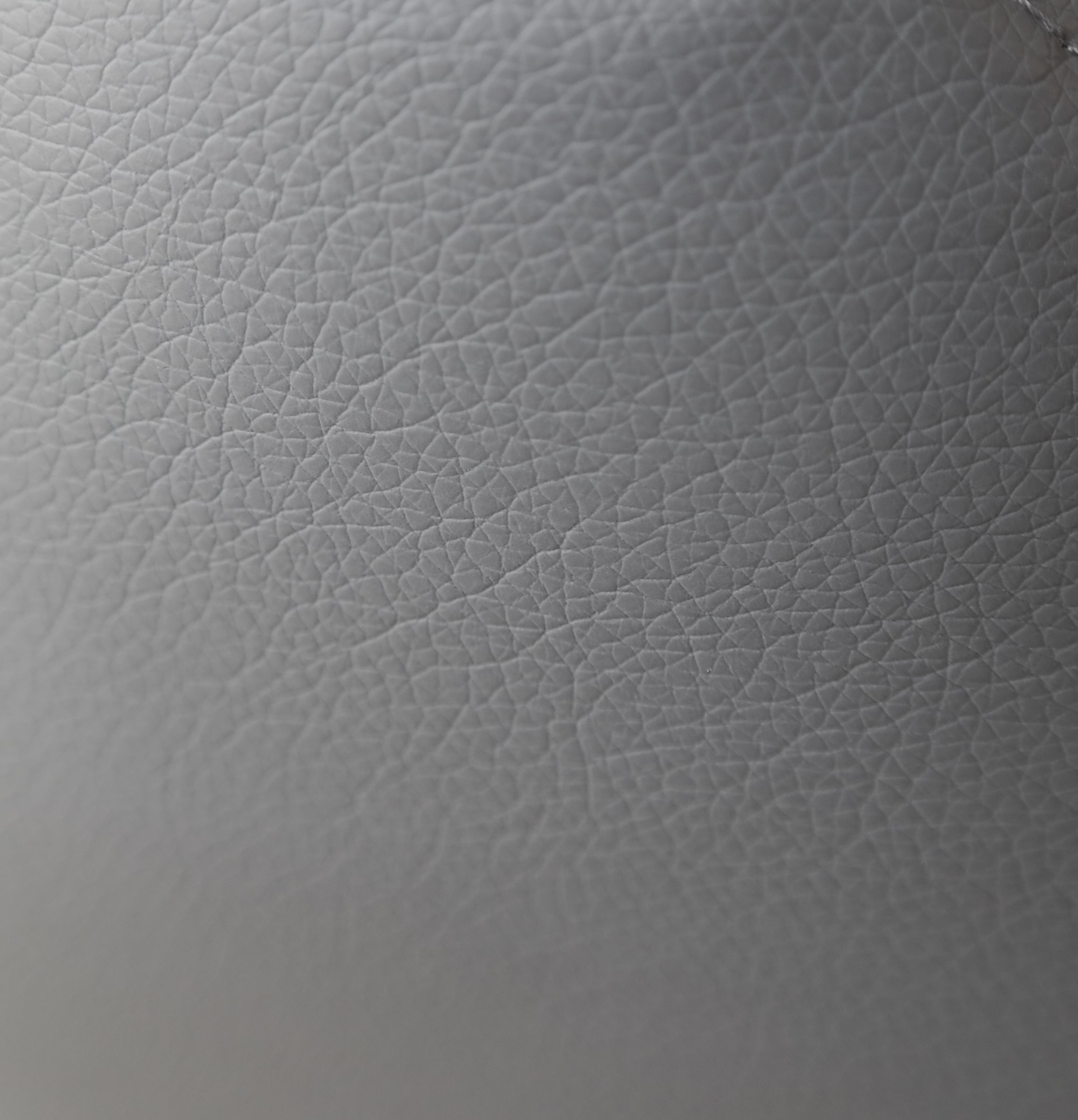 Simil cuir gris anthracite