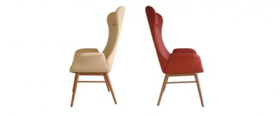 Le fauteuil Tulipe, la parfaite alliance entre fauteuil fixe de salon et fauteuil relax